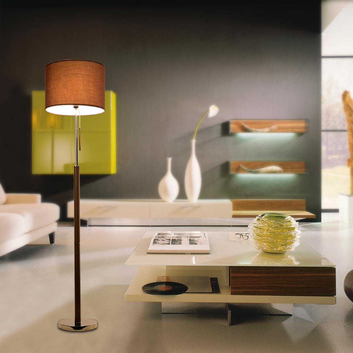 «Fei Хьюн» китайский современный стиль дома гостиная спальня изголовья кожи торшер LD4033