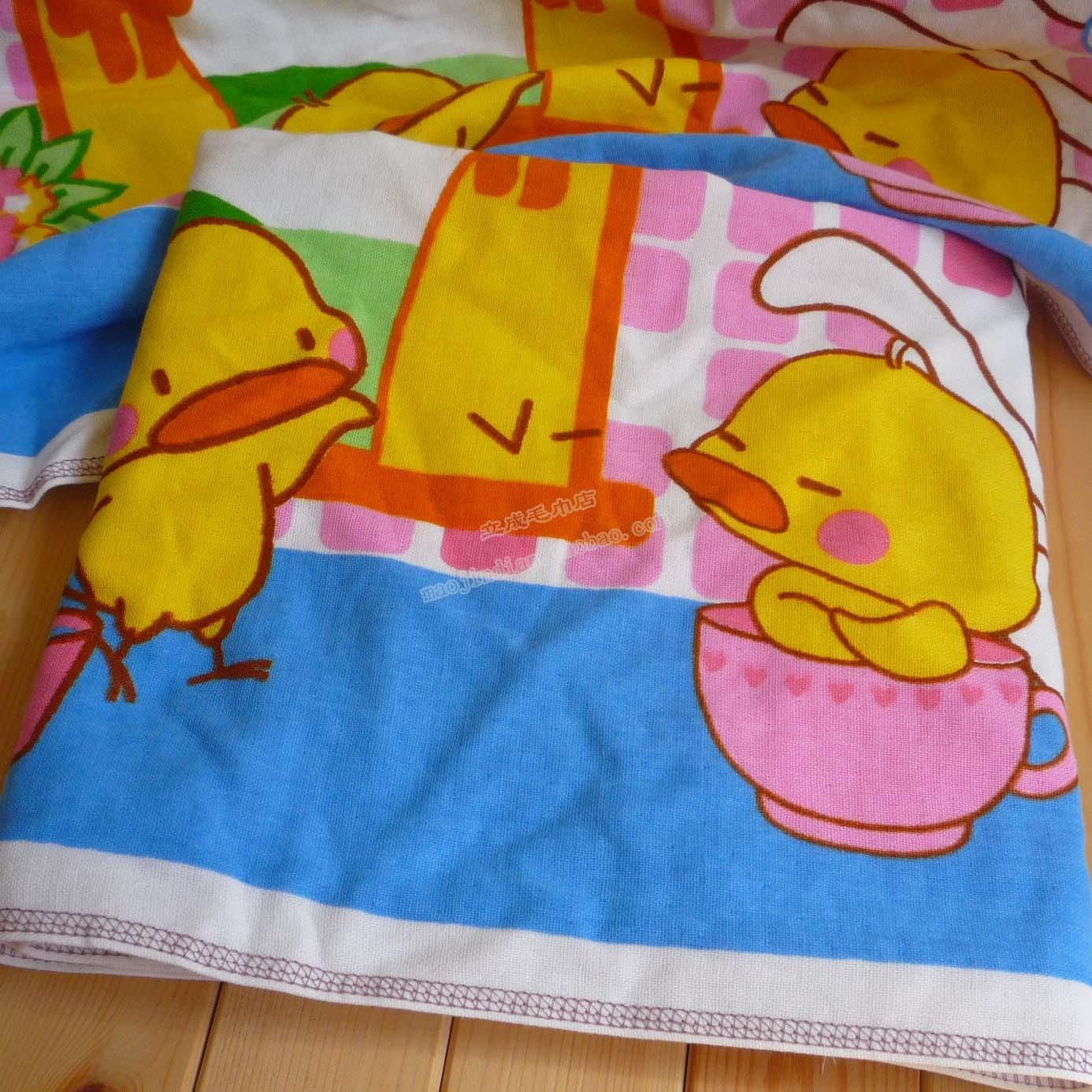 Внешней торговли хлопчатобумажной пряжи ткани полотенце милый утенок ванну воды мягкий и легко Детская ванна полотенце Распродажа