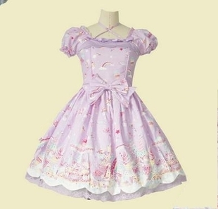 Japanese princess dress LOLITA milky planet OP