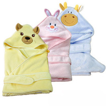 Spring summer infant bath towel newborn son baby blanket baby blankets baby bag is Super