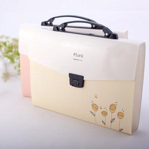 树德 FB203手提式多层文件夹 风琴包票据包试卷袋A4 文件包