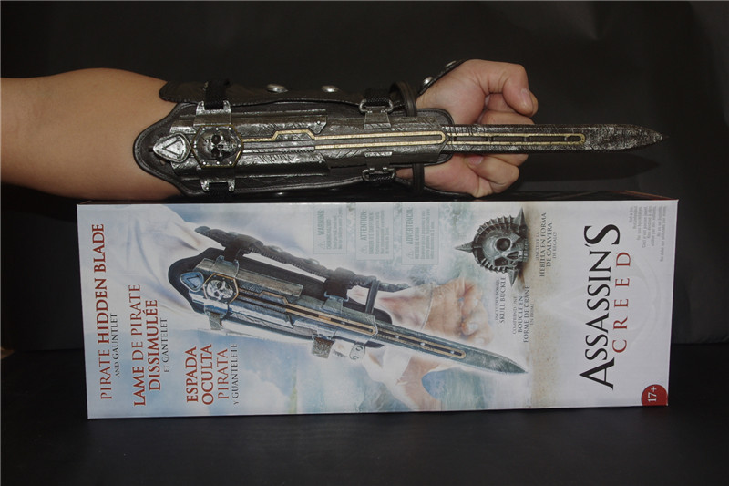 Assassins Creed 42 generation black flag Cosplay weapon props 1:1 sleeve middle sleeve sword blade can be played