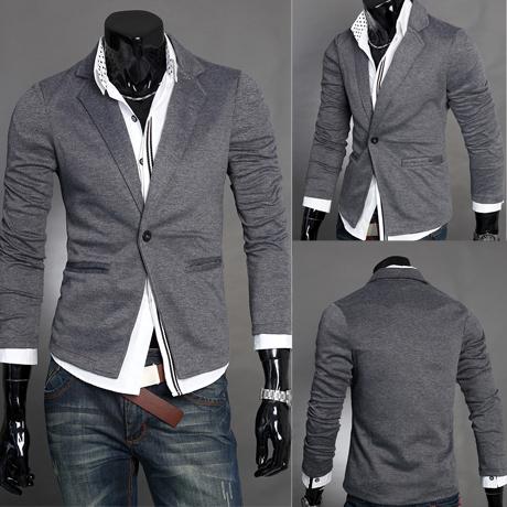 2114 новый тонкий костюм, вязание малых осень в повседневные костюмы мужчин