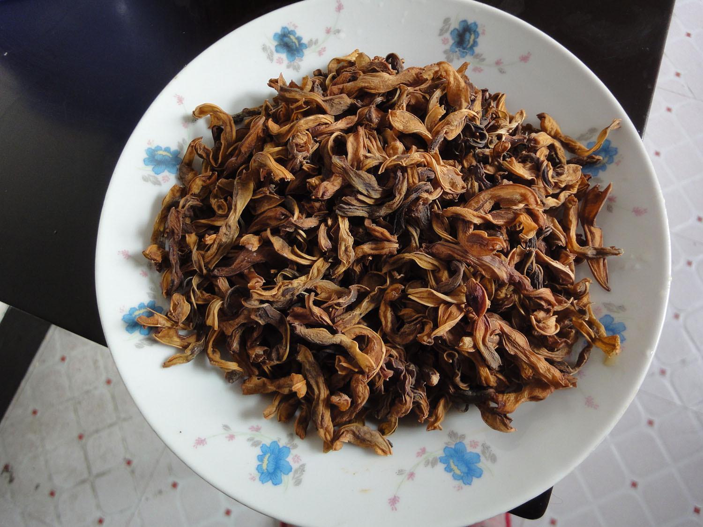 大别山岳西特产农家自制特产干豆角250g 纯绿色 豇豆角干菜