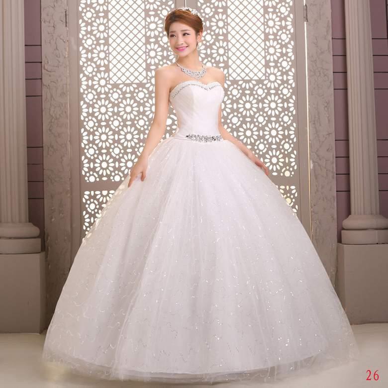 Платье свадебное Ци обертывания WMZ stomacher Корейский самостоятельной slim Свадебные платья Свадебное платье новый стиль Свадебные платья