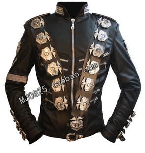 Michael Jackson MJ Michael Jackson BAD Yokohama classic black leather jacket