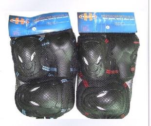 成人轮滑护具 护手护肘护膝6件套 极限护具旱冰溜冰大号保护套装价格