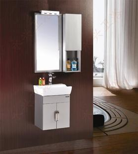 The new 304 stainless steel wash basin bathroom cabinet cabinet Washing washbasin cabinet bathroom cabinet combination package with side cabinet