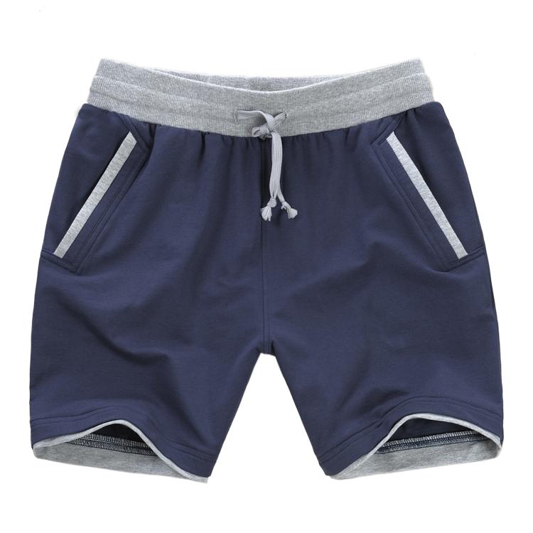 Спортивные шорты мальчиков летом хлопка брюки случайных брюки плюс размер расслабились пять работает бадминтон 5 минут штаны хлопка