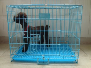 Pet Supplies dog cage bold type cages large and small wire cage with a skylight in your Bin Taidi