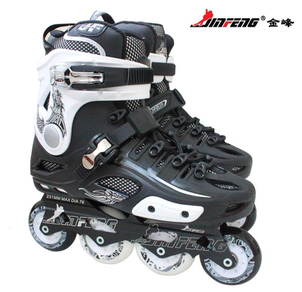 金峰正品 S500成人固定码平花鞋 溜冰鞋 旱冰鞋 轮滑鞋