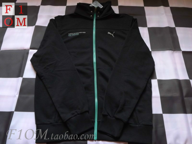 Spot F1 Team Mercedes 2013 Mercedes Benz Amg Sweater Jacket Puma