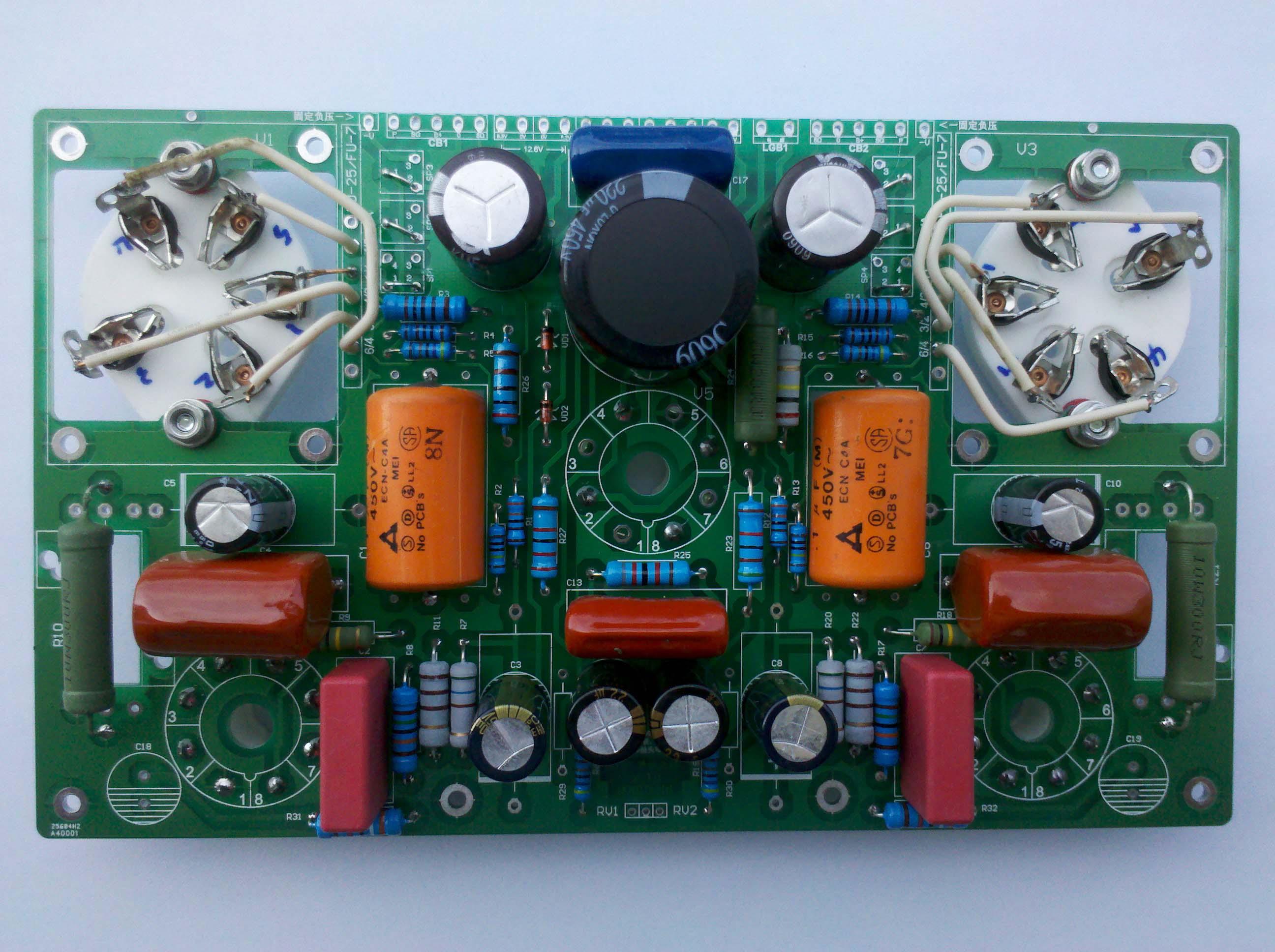 Фу-7 (807) производство многофункциональных Усилитель PCB печатной платы
