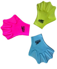 Balu silica gel swimming gloves hand webbed diving equipment duck webbed paddle for men and women