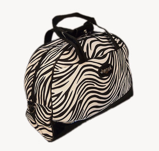 kathy authentic European and American fashion cheap promotional women s zebra portable travel