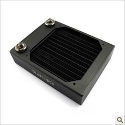 现货XSPC AX120 Single Fan Radiator (Black) 120纯铜水冷排