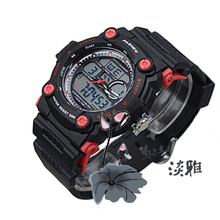 11 new quality goods best cow PSE - 367 - a waterproof multi-functional sports leisure table Dual display digital watches