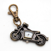 Package mail smiling motorcycle Keychain accessories motorcycle table antique pendant pendant card