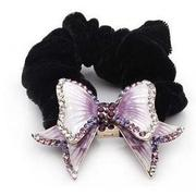 G012 rhinestones tiara hair accessories multi purpose Korea hair jewelry hand-woven butterflies first