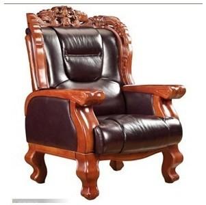 老板椅/牛皮椅/大班椅/转椅/实木牛皮椅