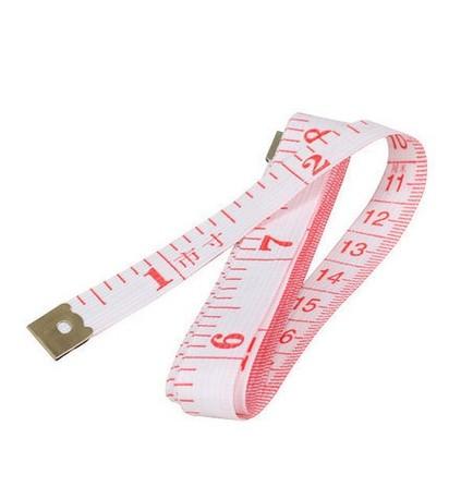 塑料软皮尺 裁缝尺 双面刻度 测三围卷尺 1.5米 DIY工具 量身高
