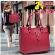 Europe and the United States big fashion female package 2015 new boom one shoulder handbag Europe and the United States to restore ancient ways ms big bag