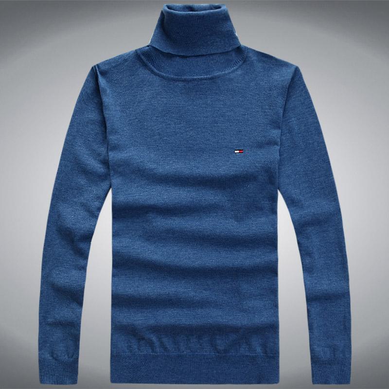 Мужская Весна и осень тонкий водолазка пуловеры хлопка свитер мужской свитер не мяч экспорт к концу оригинальный сингл