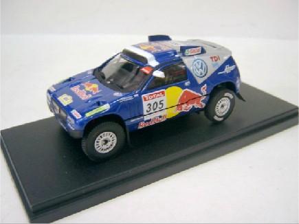 2010年款原厂 1:43 大众途锐 达喀尔 拉力赛车 合金 模型