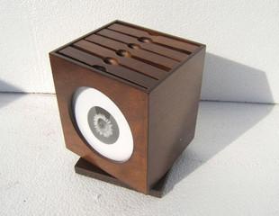 Китайский стиль / дерево качество / цвет кофе / творческий подарок / европейская версия большой потенциал вращение cd коробка / бесплатная доставка тень блюдо коробка