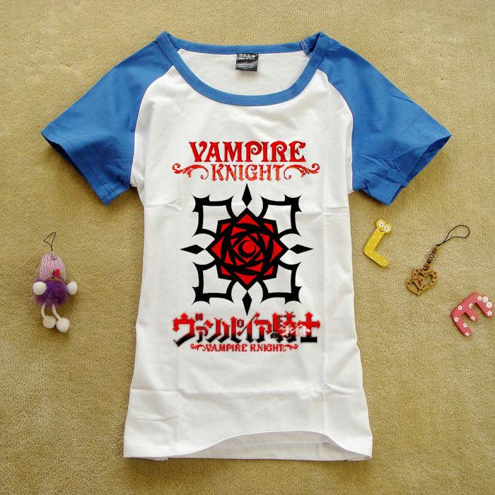 2014款夏装韩版周边潮流情侣运动纯棉吸血鬼骑士动漫周边短袖T恤