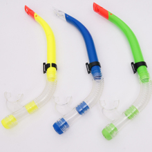Diving equipment Snorkeling in the maldives for export-oriented rubber half dry breathing tube Three color spot