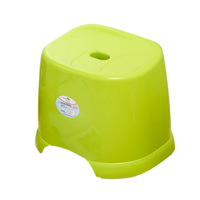 稻草屋 加厚型浴室防滑凳 塑料小板凳 洗澡凳 洗衣凳客廳茶幾凳子