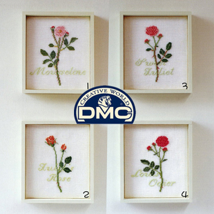 New magazine article French DMC Cross Stitch Kit Rose Little King is not a precise 3D printing