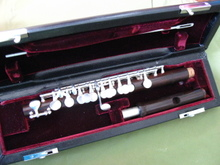 The United States bought George rosewood piccolo Top professional high quality silver plated silver