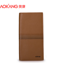 Aokang leather product head layer cowhide leather men's wallet purse leisure fashion satchel mail