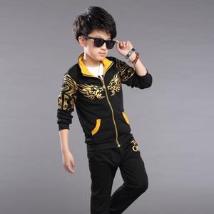 童装男童春装套装新款韩版男中大童儿童春秋休闲运动两件套潮