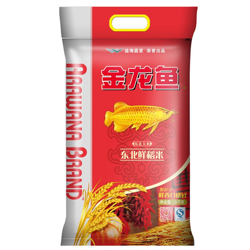 ~天貓超市~金龍魚 鮮稻米5kg 秋田小町米壽司米東北大米香米