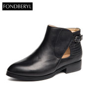 Fondberyl/feibolier the counter belt buckles with genuine cowhide boots shoes FB44111427