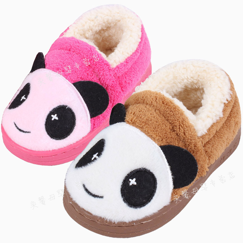 e177e3f5787b Children s shoes stuffed bag with cute children s slippers shoes slippers  children boys and girls winter shoes