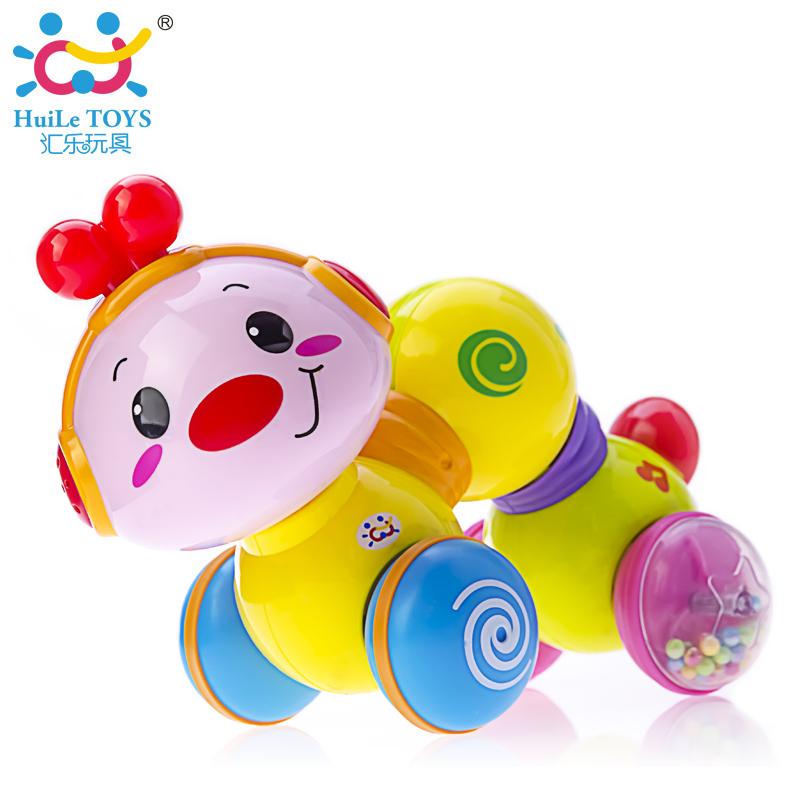 Отдел музыки игрушка 997 ползучий небольшой насекомое младенец младенец школа подъем ползунок головоломка обучения в раннем возрасте насекомое 0-1 лет 0-12 месяц
