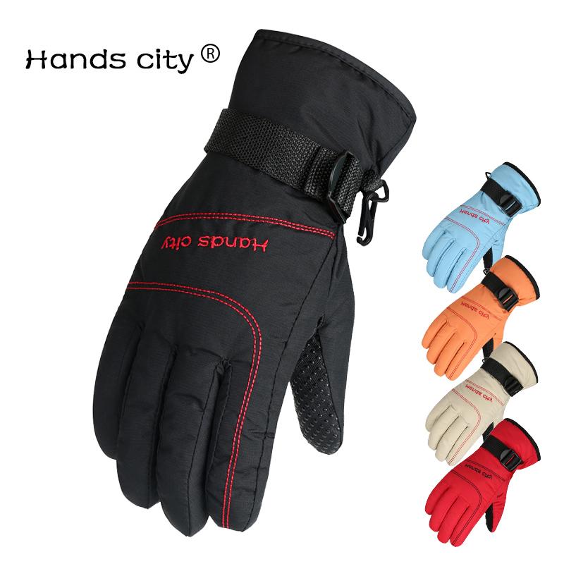 触屏滑雪手套防水男女冬保暖手套骑电动摩托车防风加厚加绒防寒棉