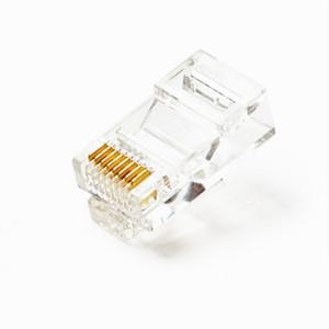 国产 RJ45水晶头 网络8芯水晶头 超五类网线水晶头