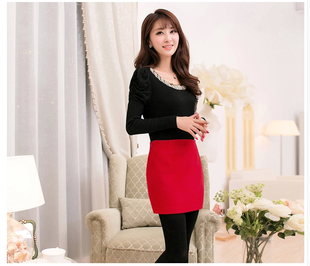 2014 new autumn woolen short skirt Women's Clothing boutique Korean Slim skirts a word hip skirt skirt skirts