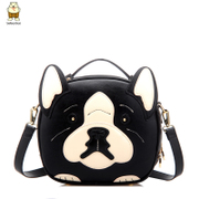 Tao spring/summer fashion bag 2015 new woman cartoon dog flashes personality leisure shoulder bags diagonal package