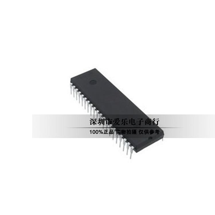 PIC 16 F 877 A-I/Pマイクロコントローラの単一チップマシンはDIP-40に直挿しします。