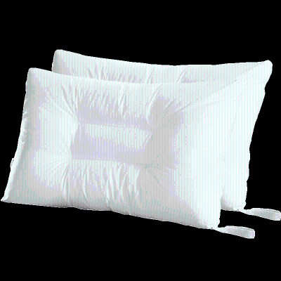 High grade machine wash quick dry washable fiber pillow (a pair of design lencier Lanxu is specially designed for washing