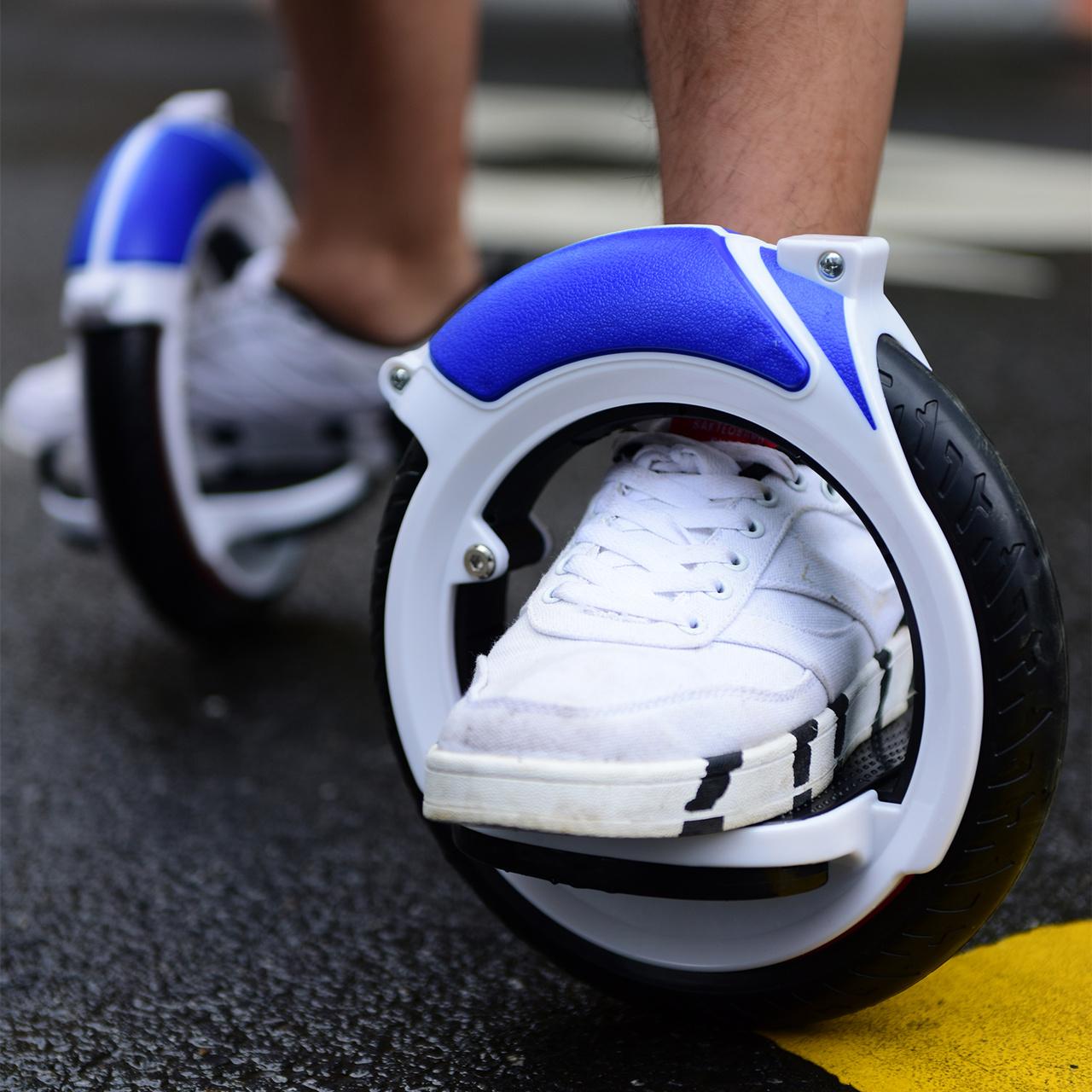 罗威x12免充气pu静音hotwheel滑板
