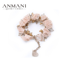 ANMANI mann Lin fashion exquisite product 12 m3208 stereo flower beaded bracelet