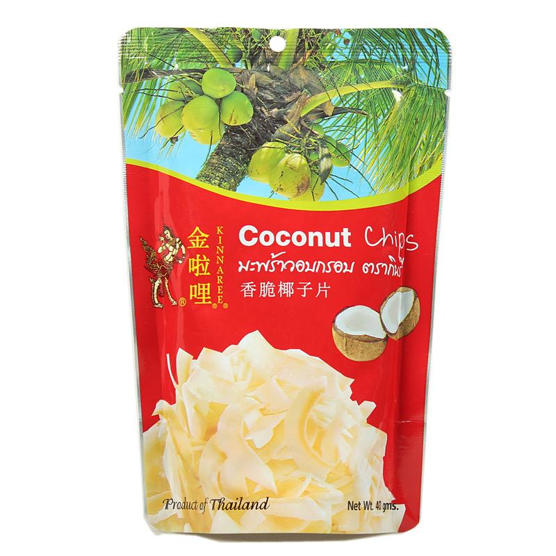 Таиланд специальный свойство рука письмо золото ли мили кокос лист ладан хрупкий жаркое кокос лист ( чистый кокос мясо )40g импорт кокос лист