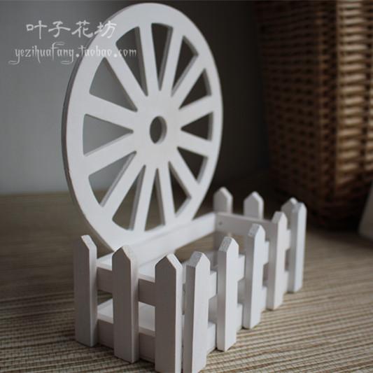 Сельская местность настенный корзины деревянный заборы цветок моделирование декоративный гостиная континентальный домой заборы украшение